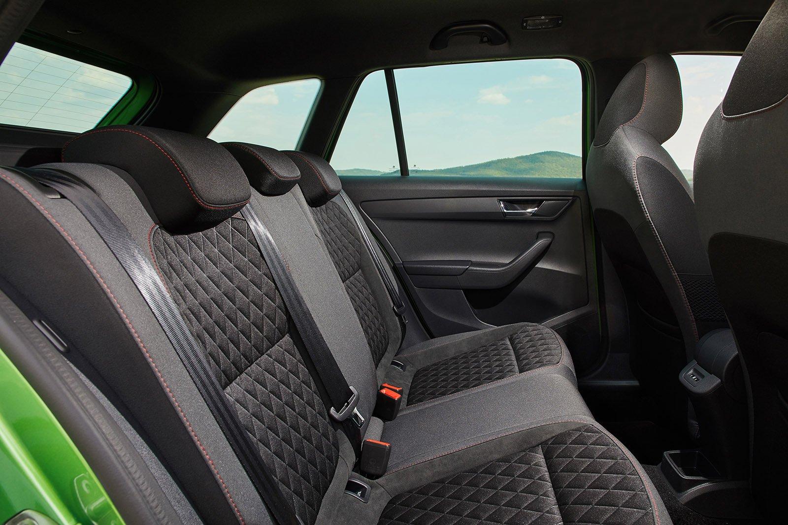 Skoda Fabia Estate 2021 rear seats