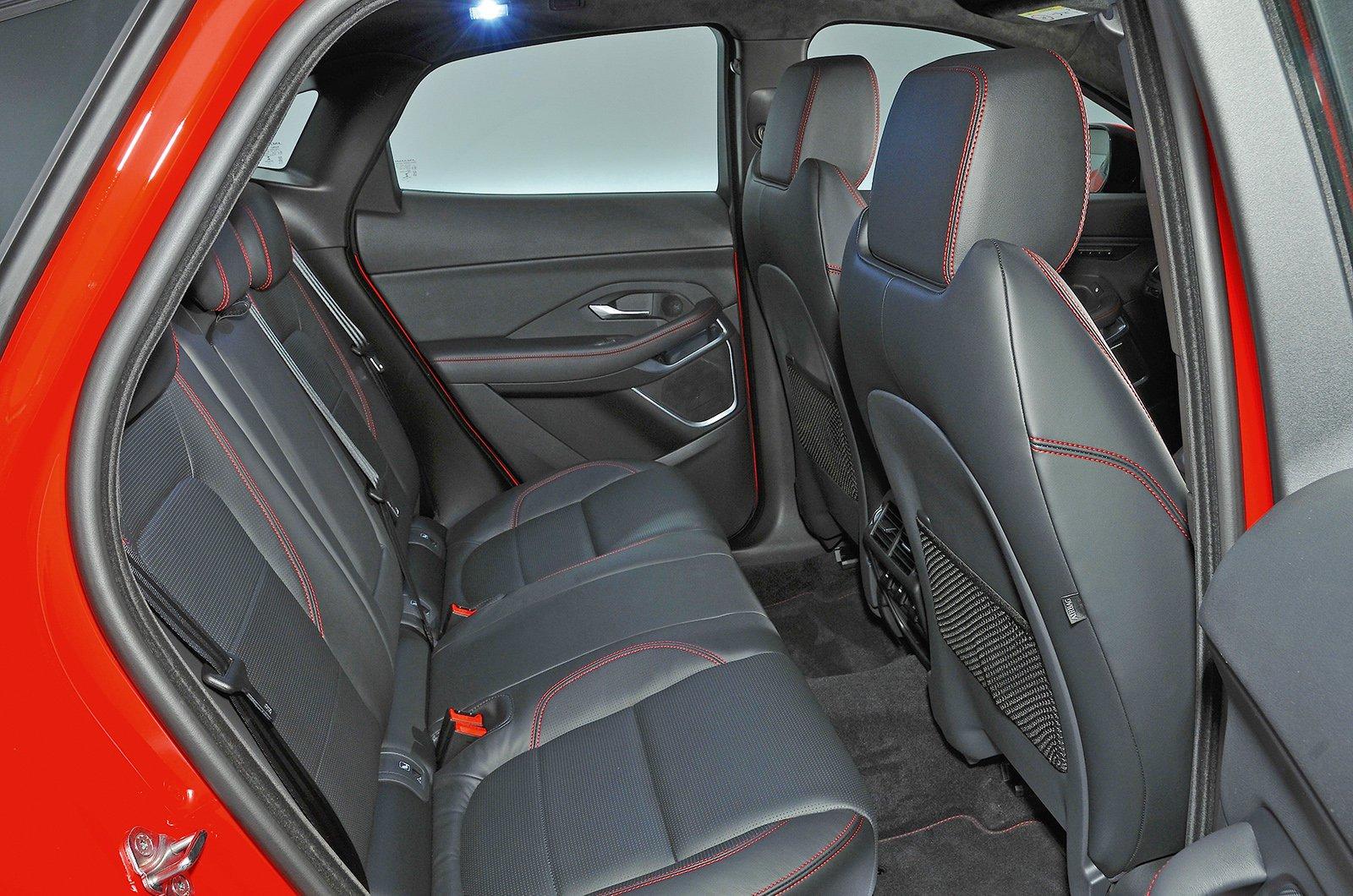 Jaguar E-Pace rear seats studio