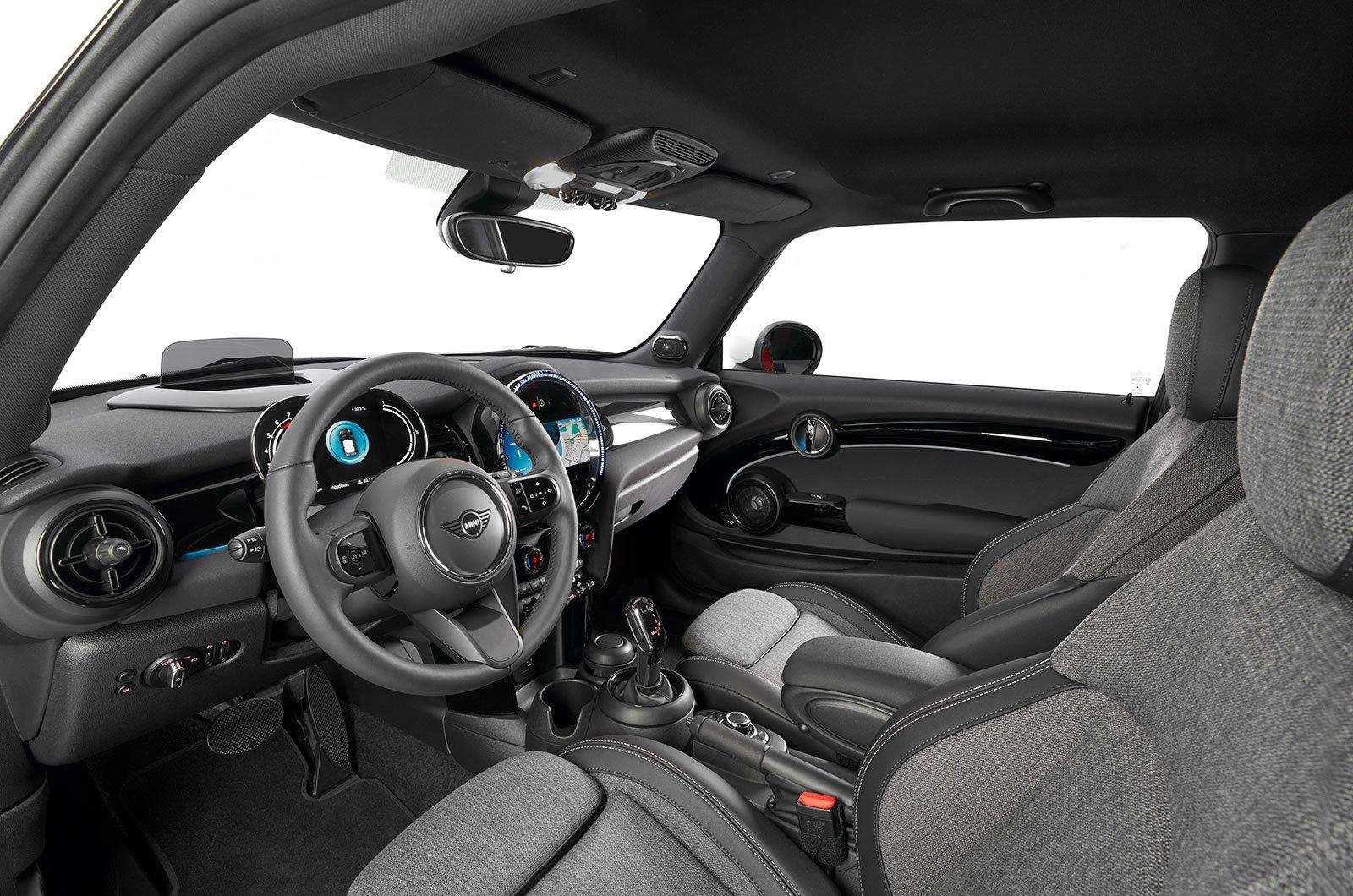 2021 Mini Hatchback Cooper interior