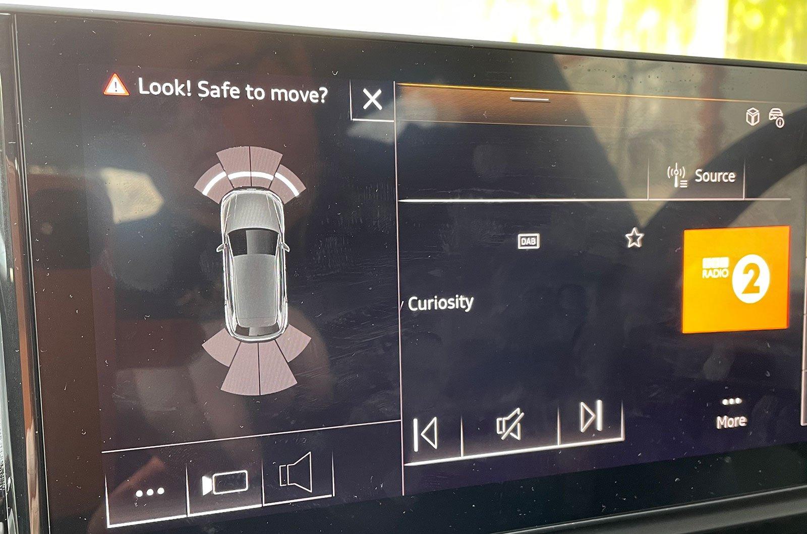 Audi Q5 infotainment screen
