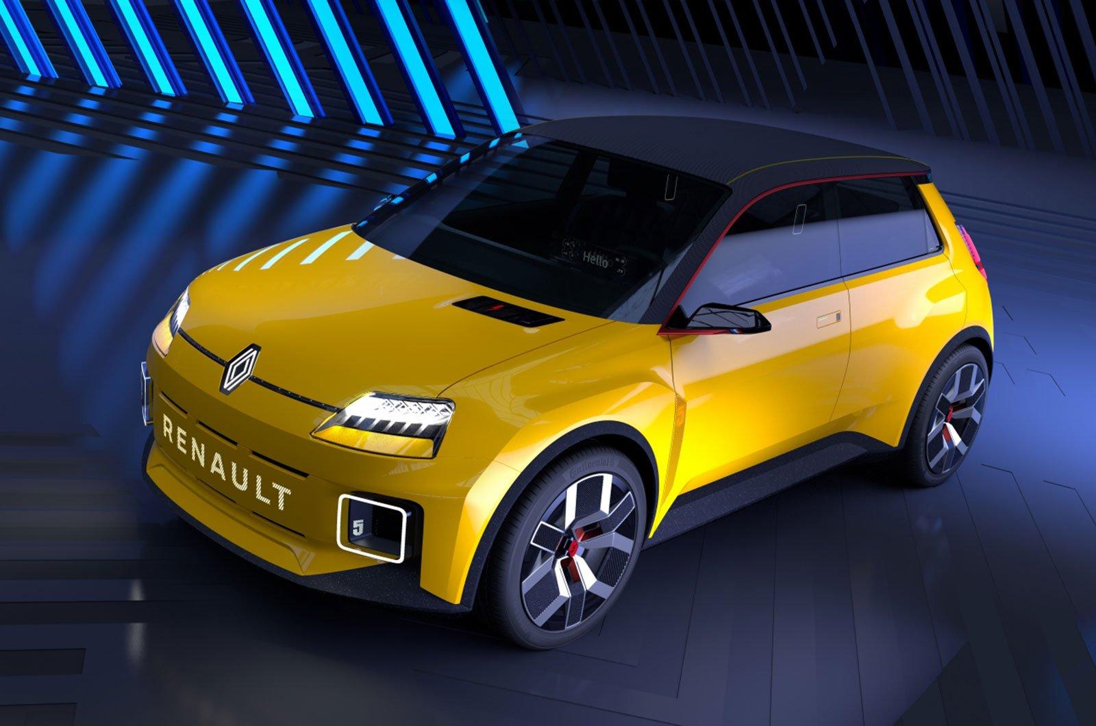 Renault 5 concept rear