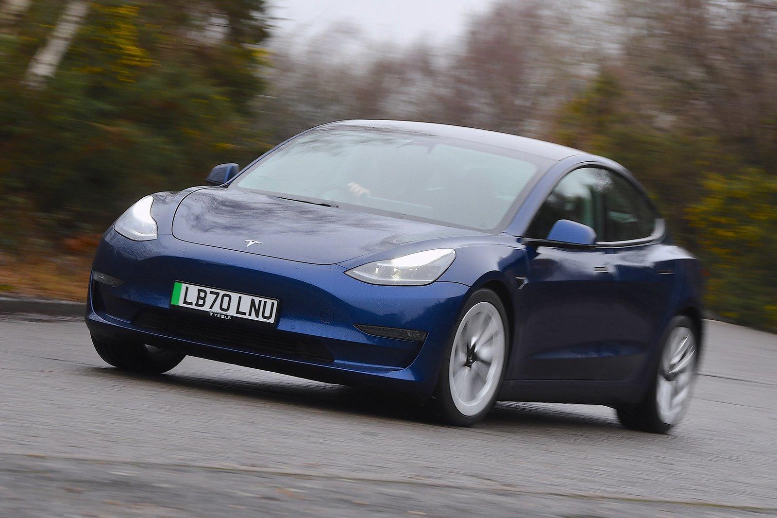 2021 Tesla Model 3 LR hero