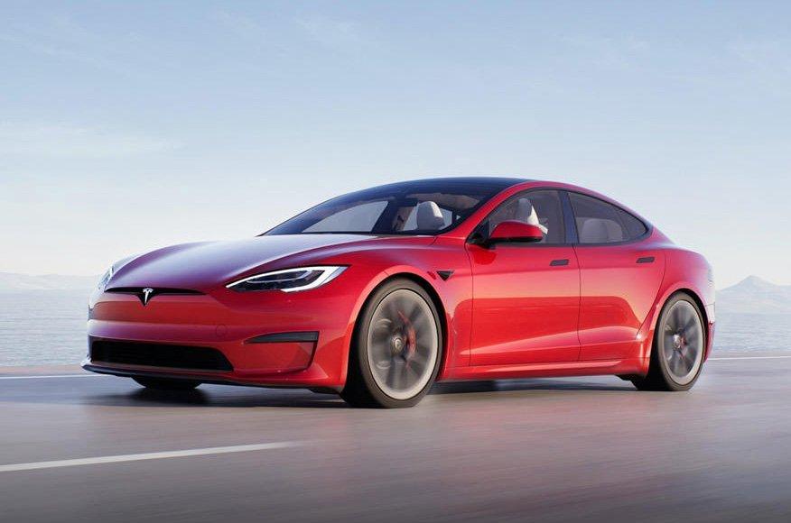 Tesla Model S 2022 front