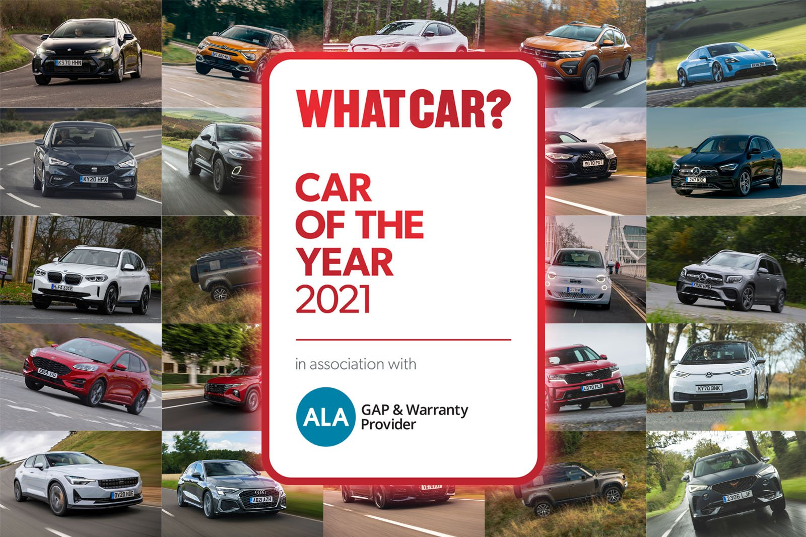 What Car? Car of the Year 2021 shortlist