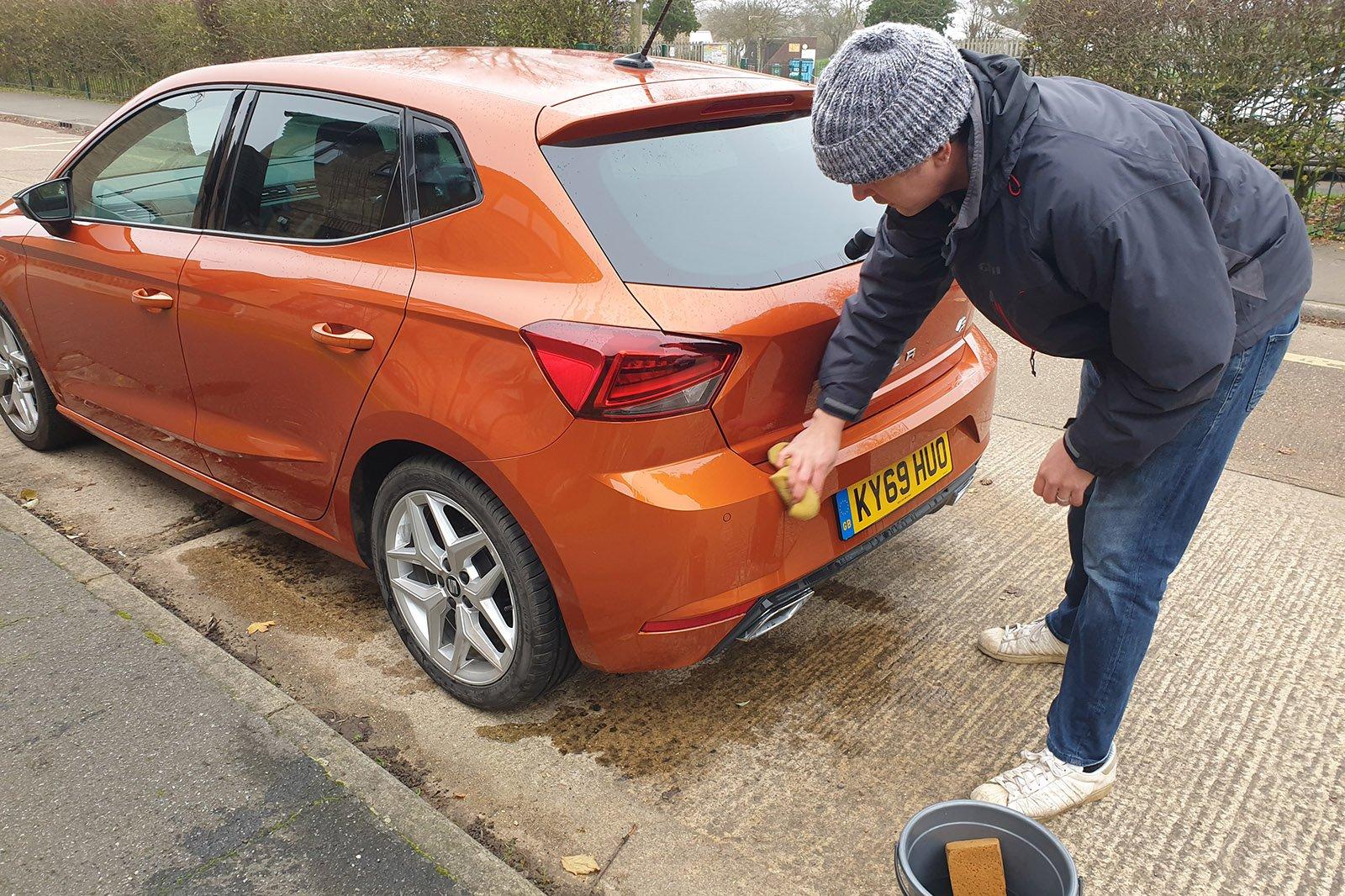 Seat Ibiza FR long-term washing