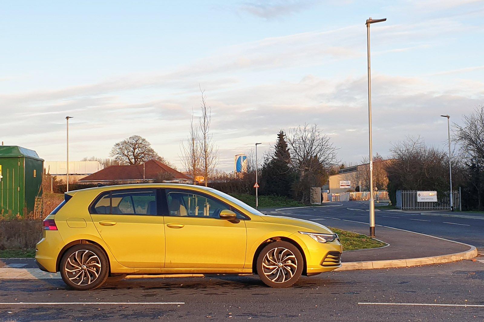 Volkswagen Golf long-term wide shot
