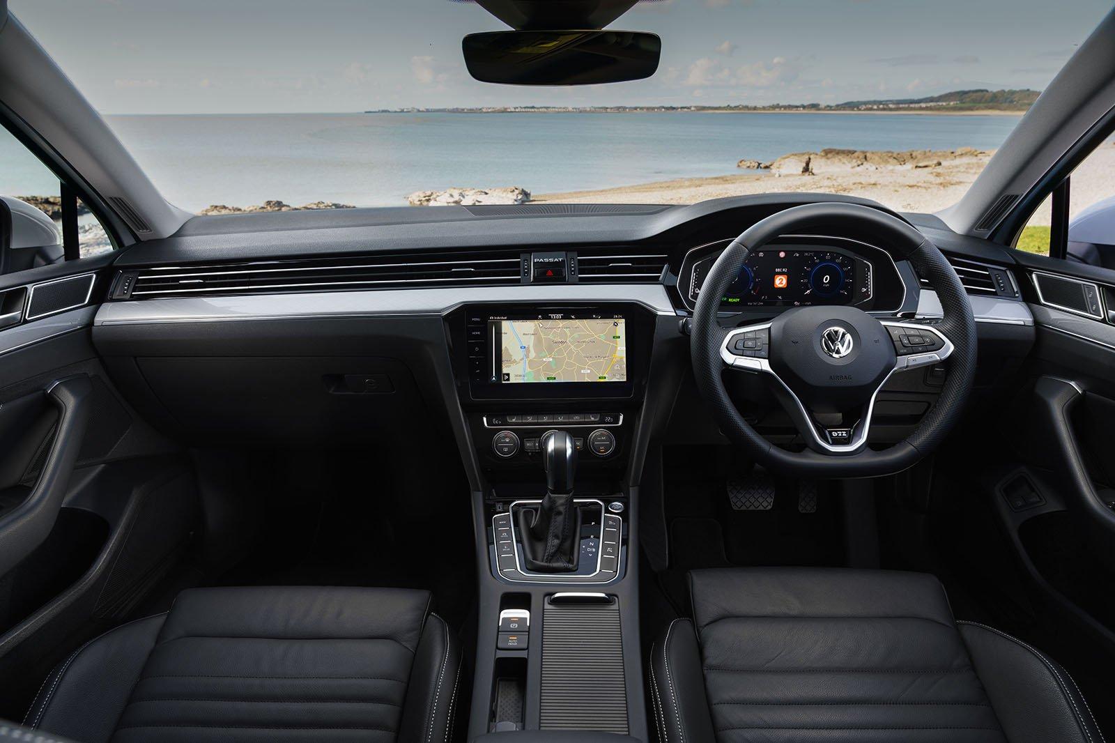 Volkswagen Passat GTE 2021 RHD dashboard