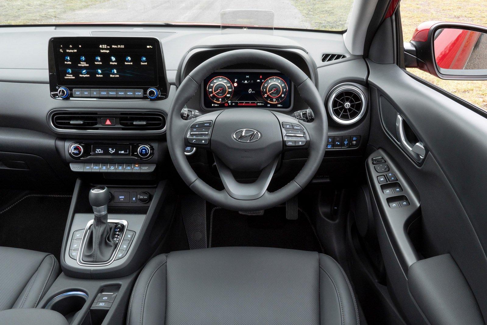 Hyundai Kona 2021 dashboard
