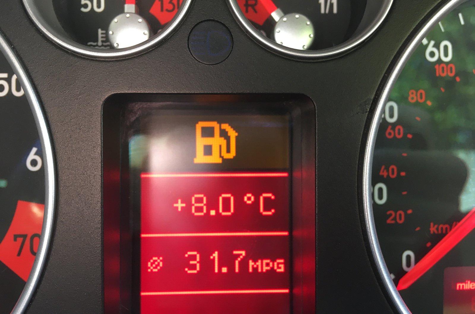 LT Audi TT empty fuel