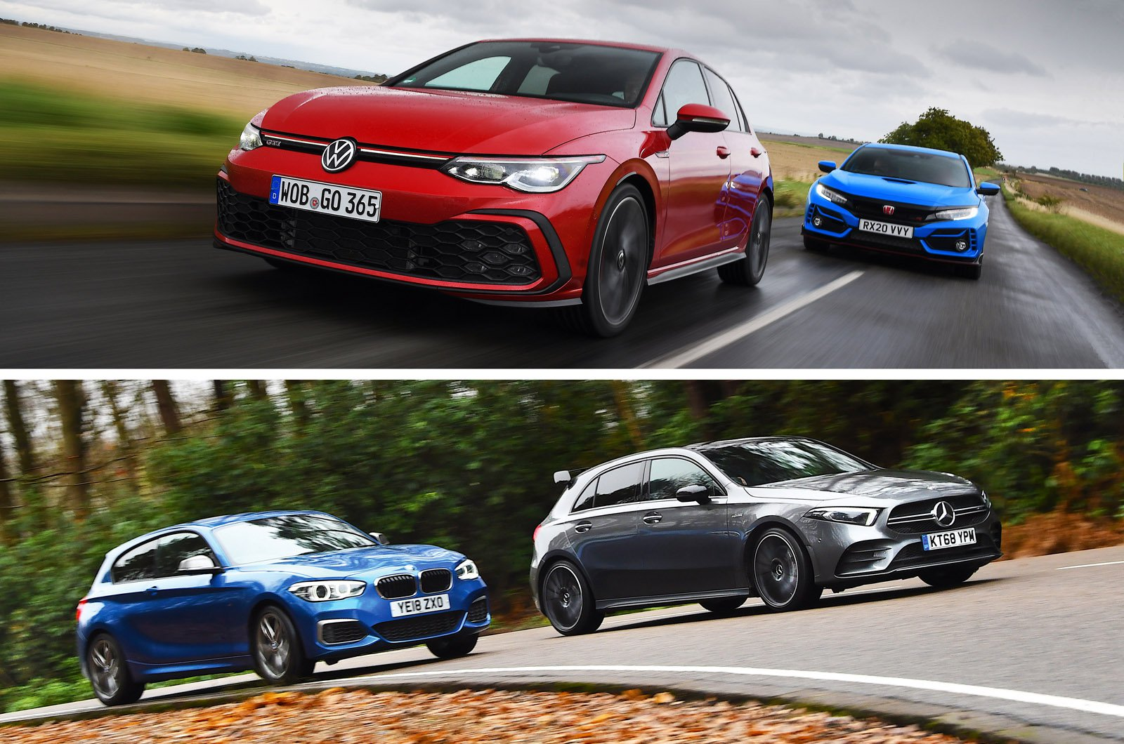 The best hot hatches in 2021