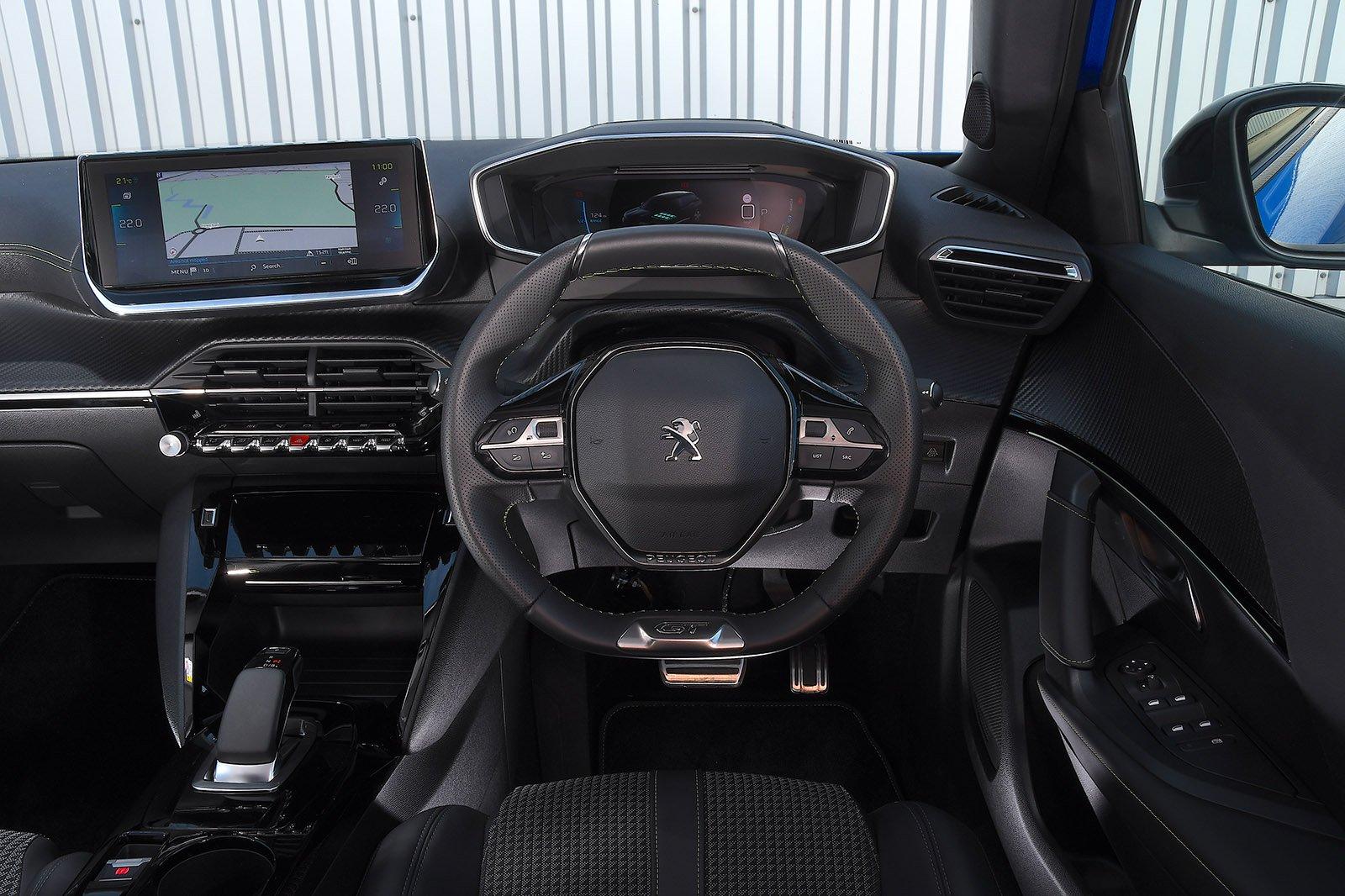 Peugeot e-2008 2021 RHD dashboard