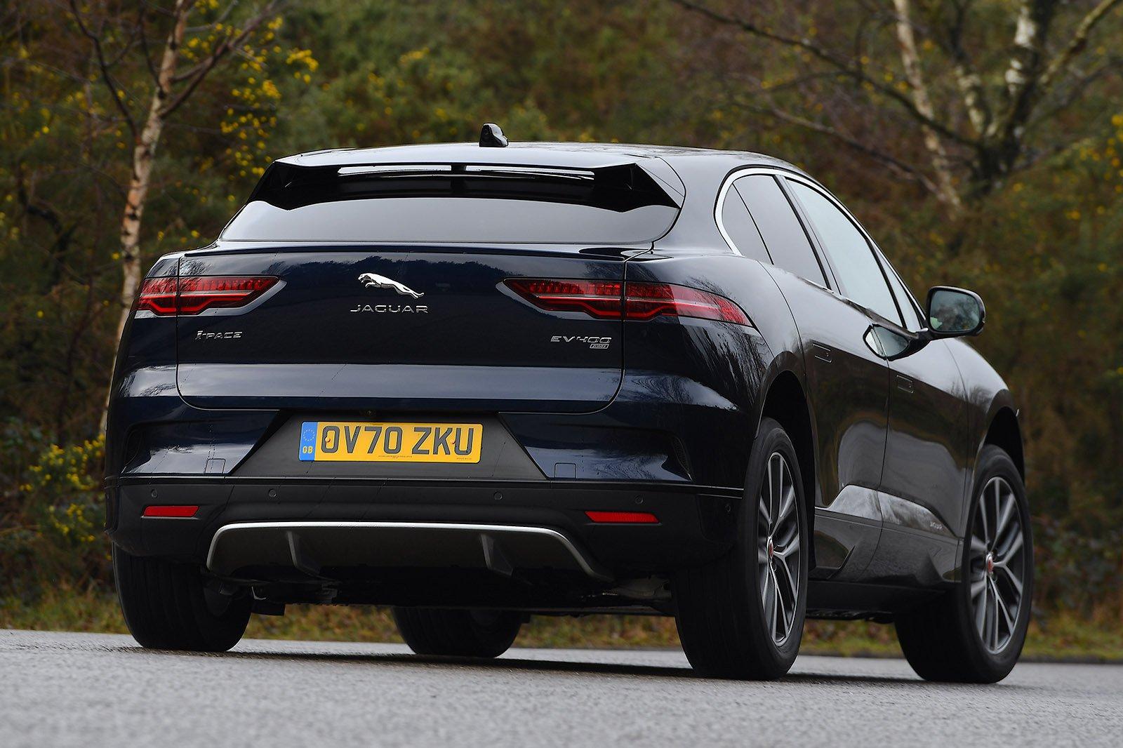 Jaguar I-Pace 2021 rear cornering