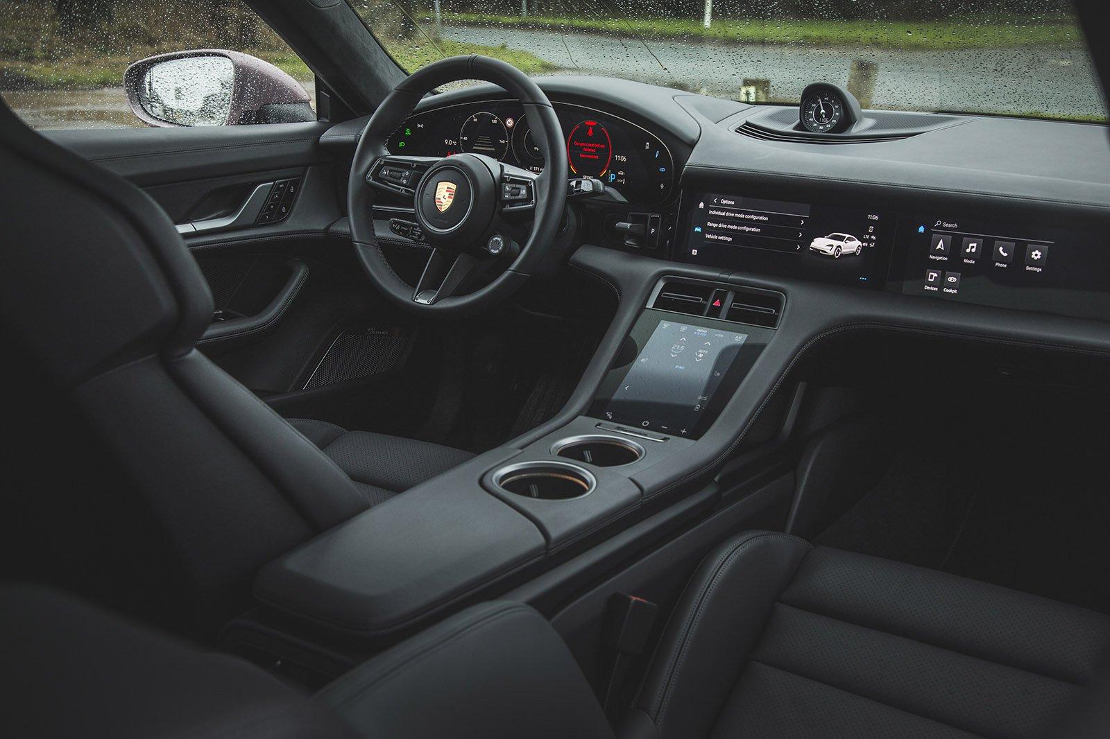 2021 Porsche Taycan RWD interior
