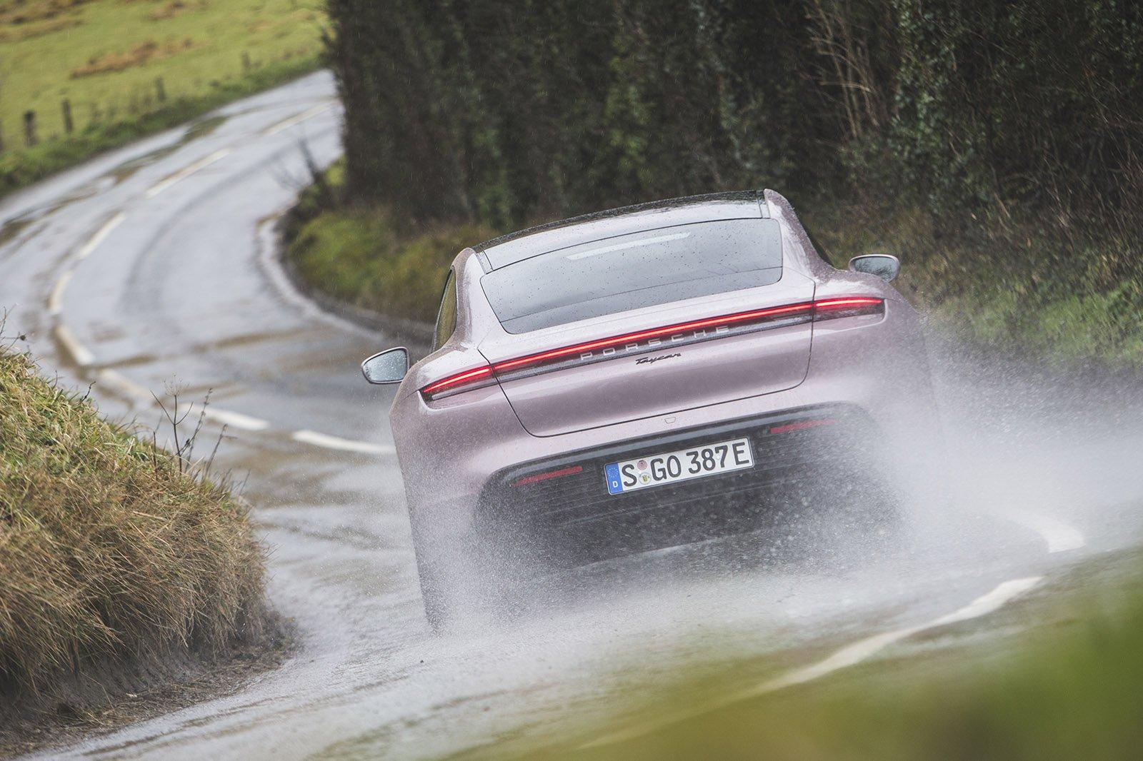 2021 Porsche Taycan RWD rear 2