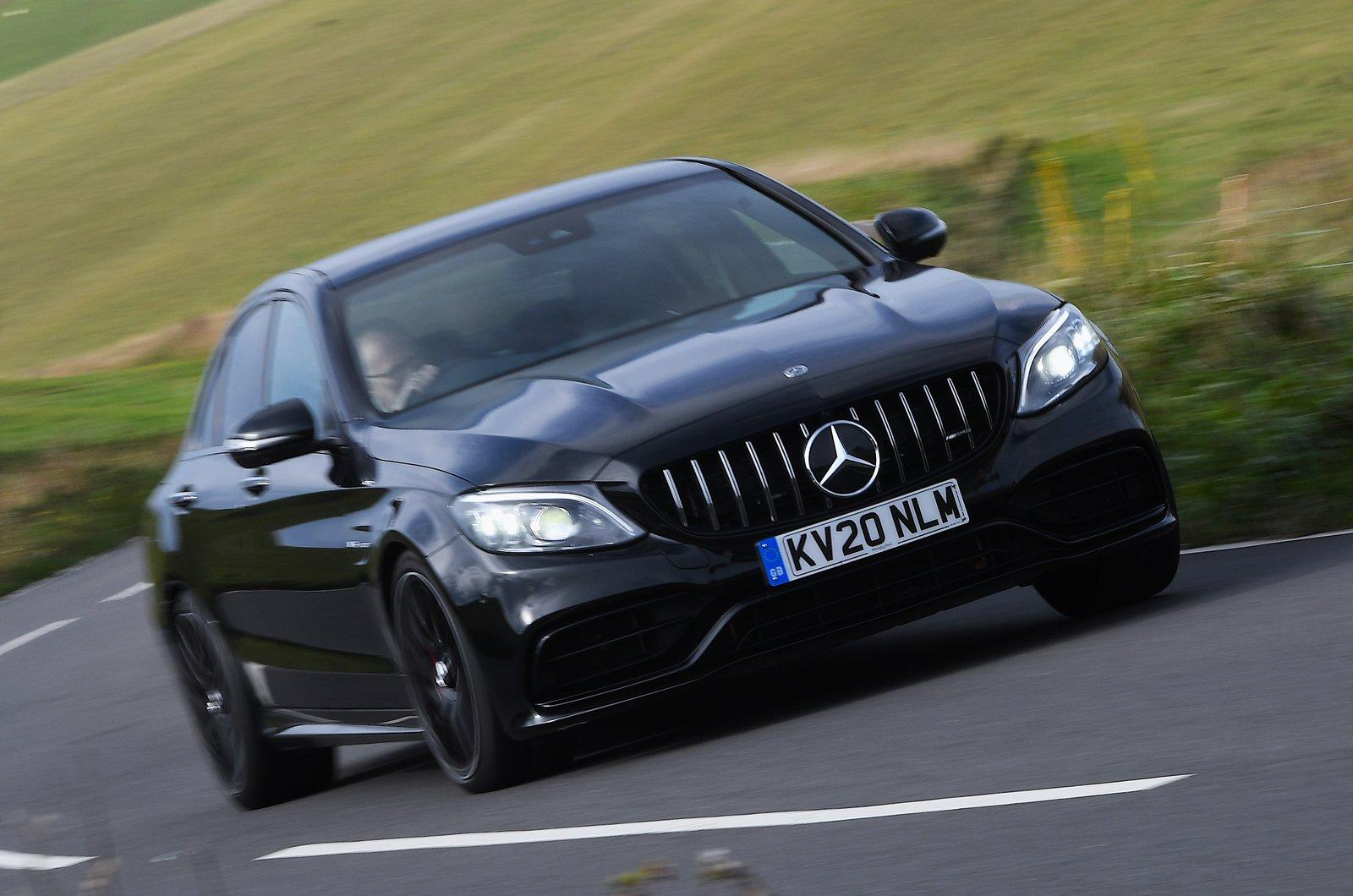 Mercedes-AMG C63 S front