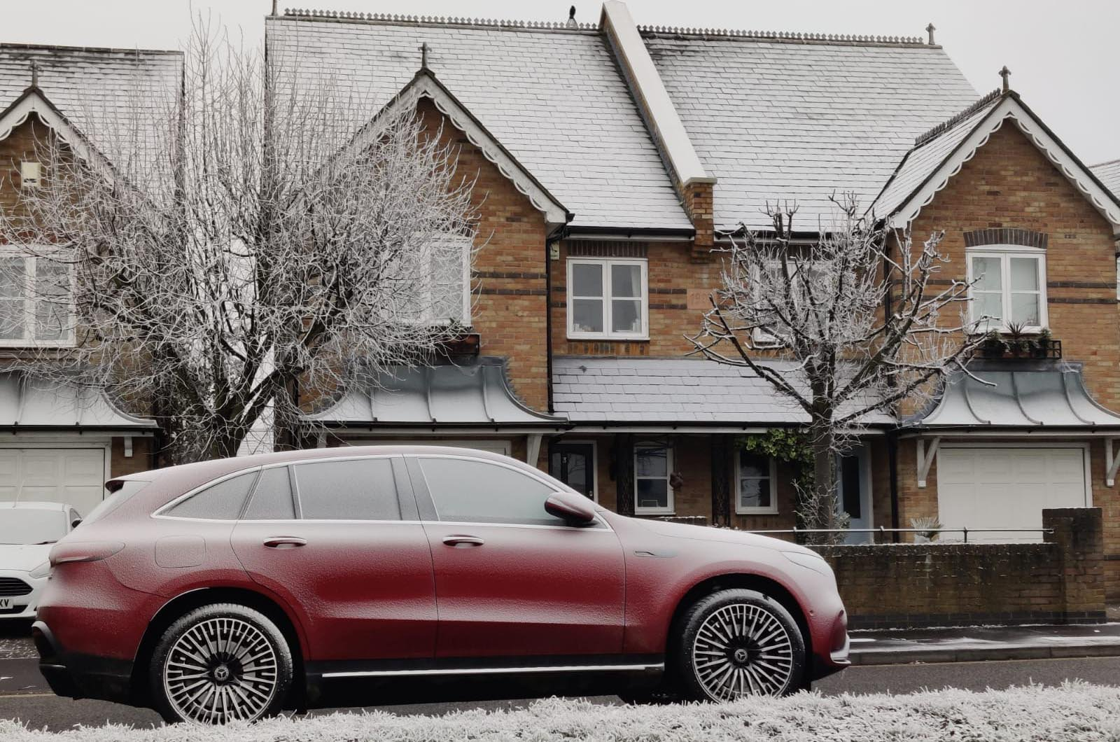 Mercedes EQC cold weather