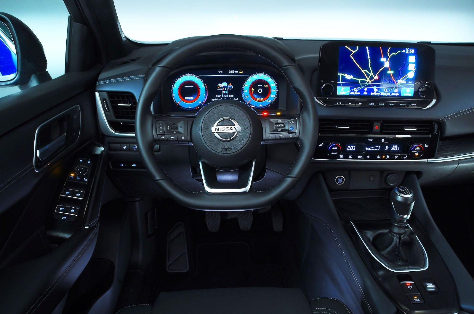 Nissan Qashaqi 2021 dashboard