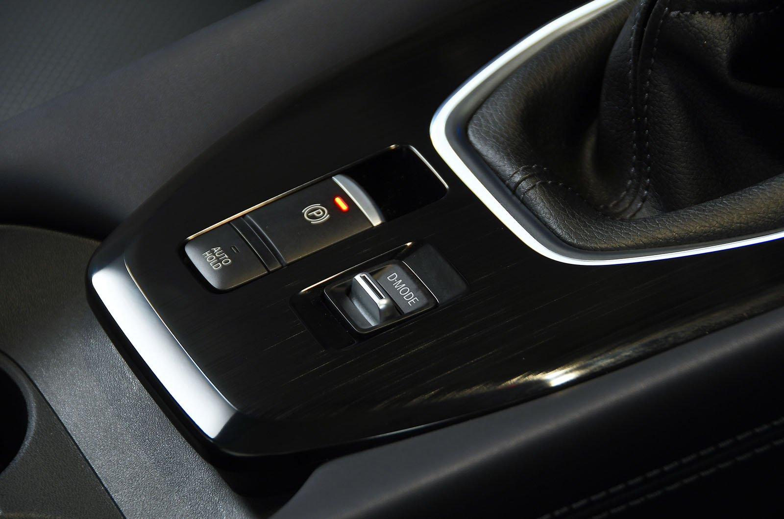 Nissan Qashqai 2021 drive mode switch