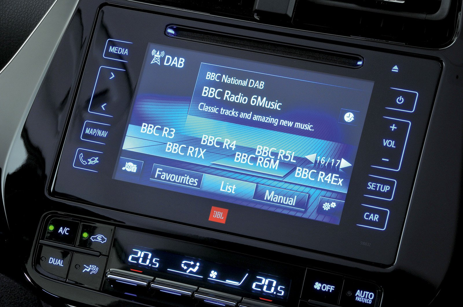 Toyota Prius infotainment
