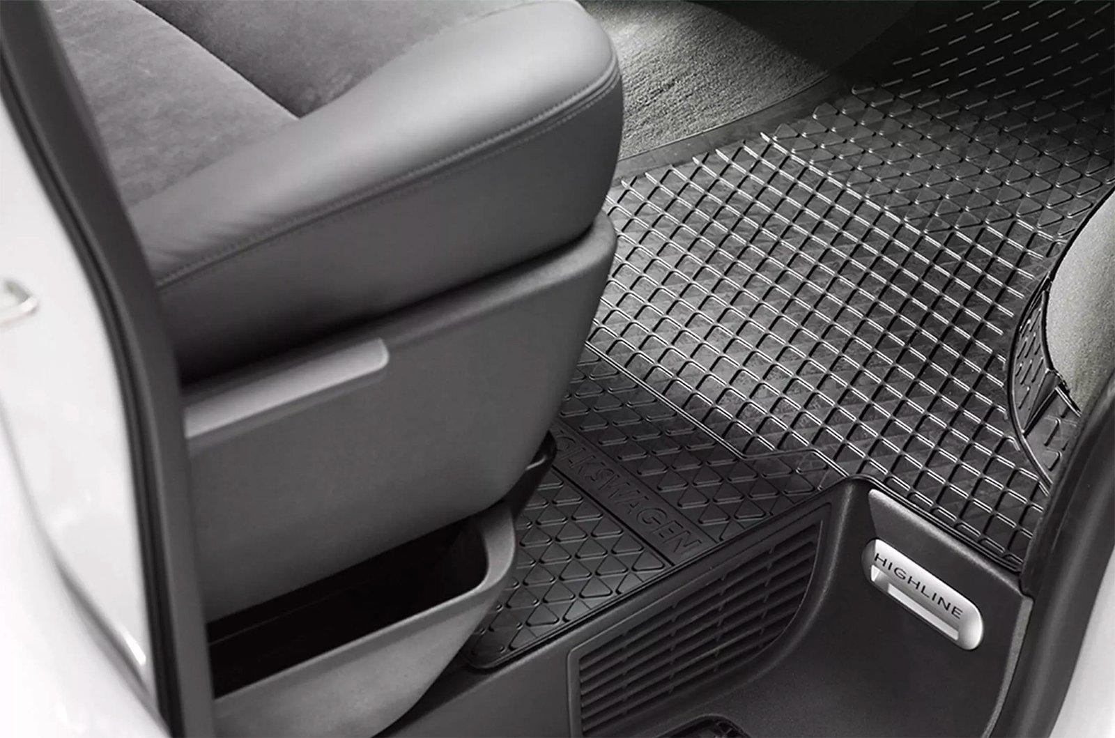Heavy-duty floor mats