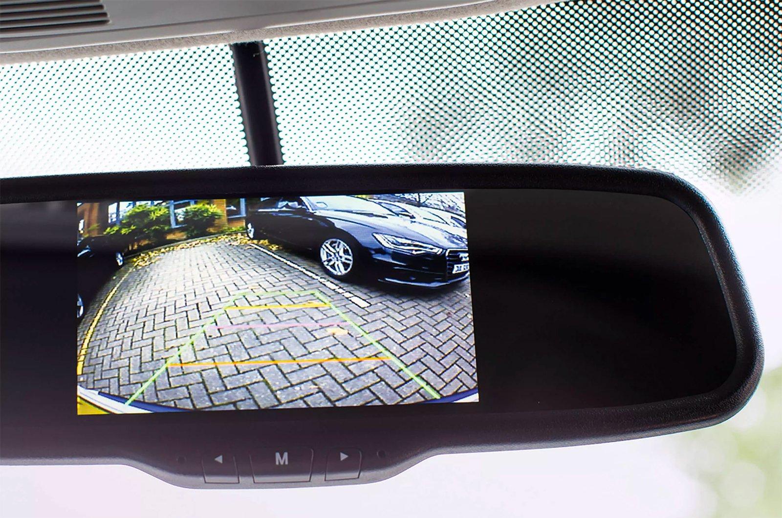 Volkswagen rear-view camera