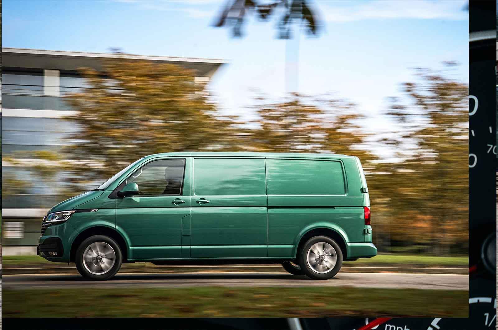 Volkswagen ABT eTransporter side view