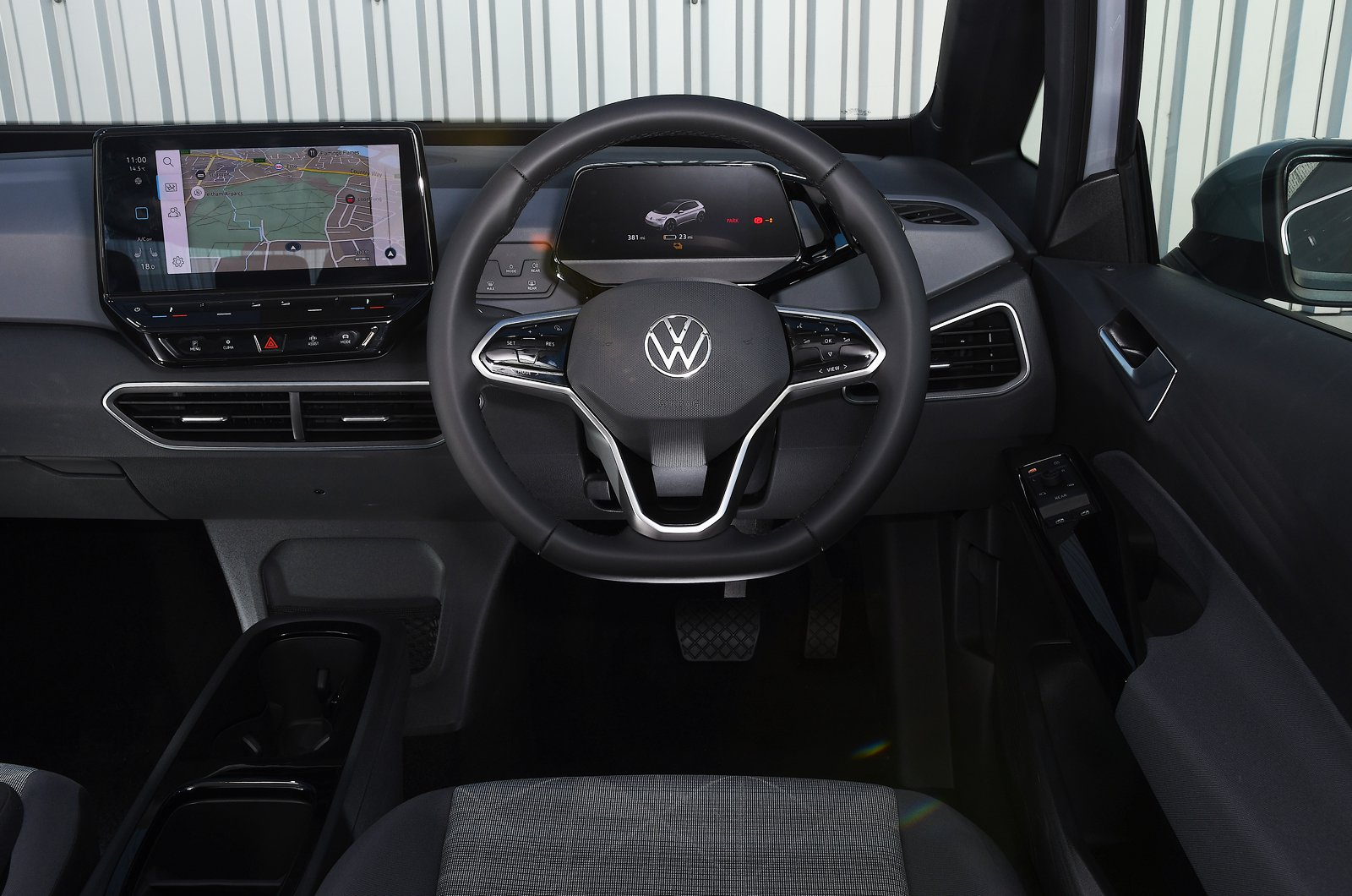 Volkswagen ID.3 dashboard