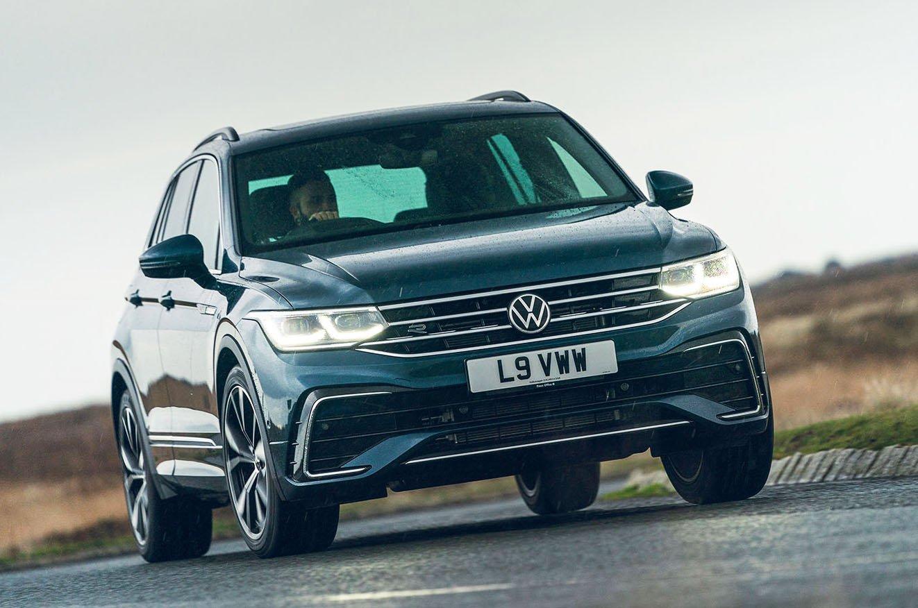 Volkswagen Tiguan 2021 front