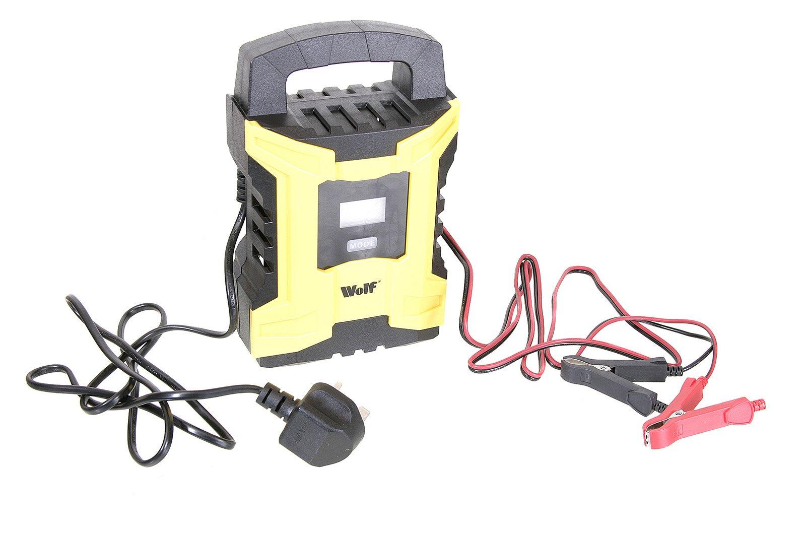 Smart battery charger 2021 - Wolf WBC180