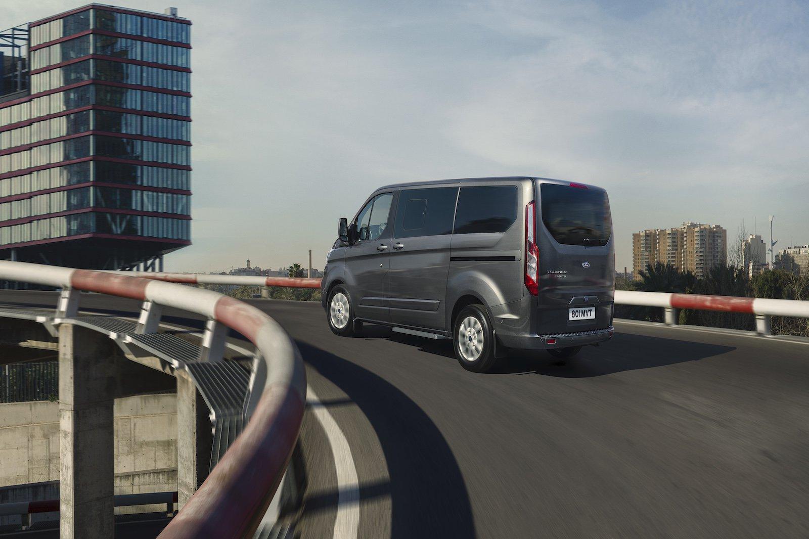 Rear Transit PHEV