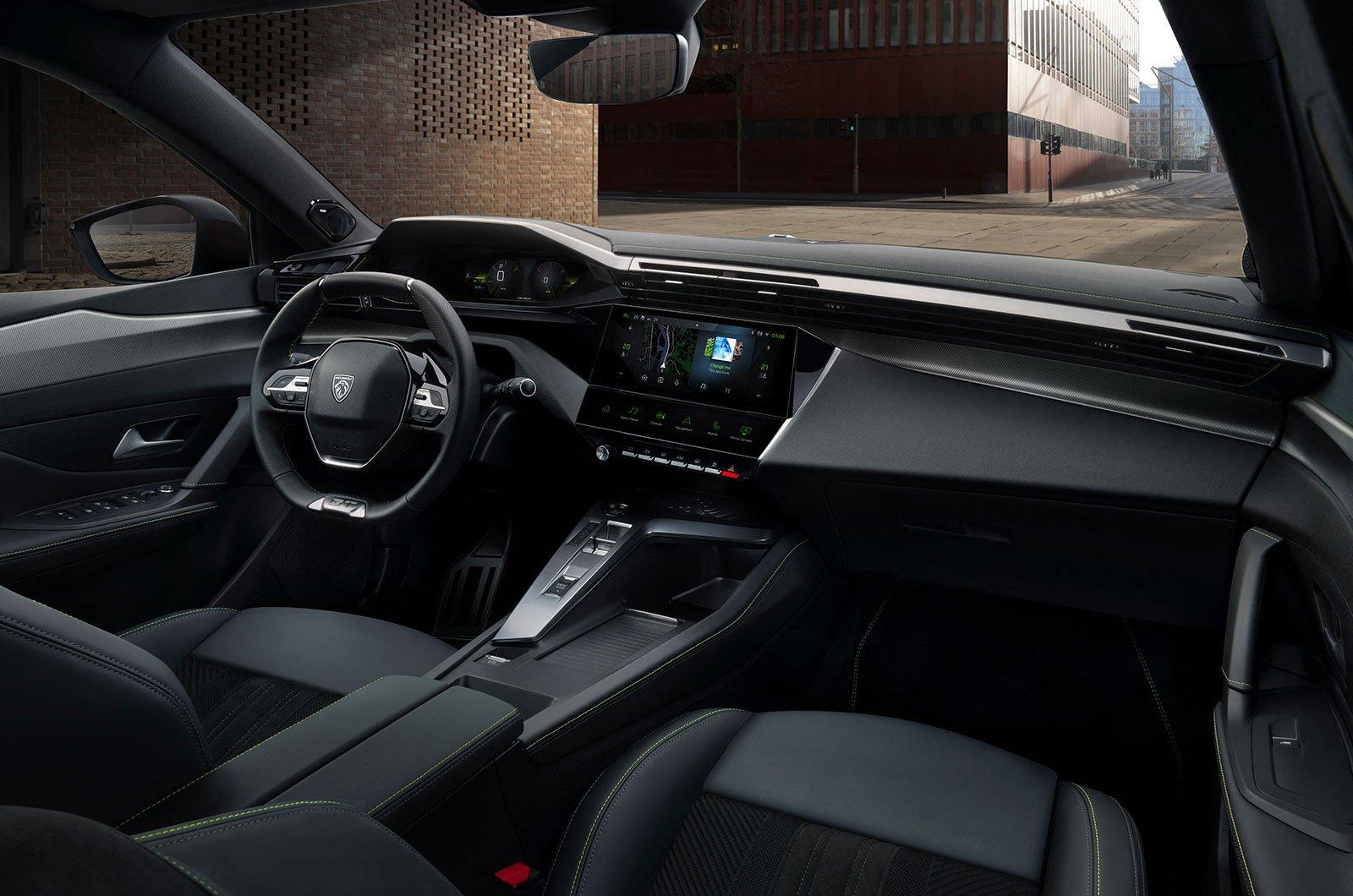 2021 Peugeot 308 interior