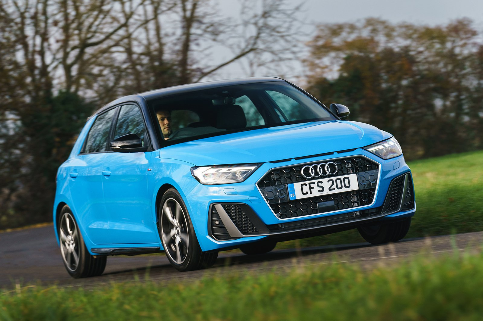 Audi A1 2021 front cornering