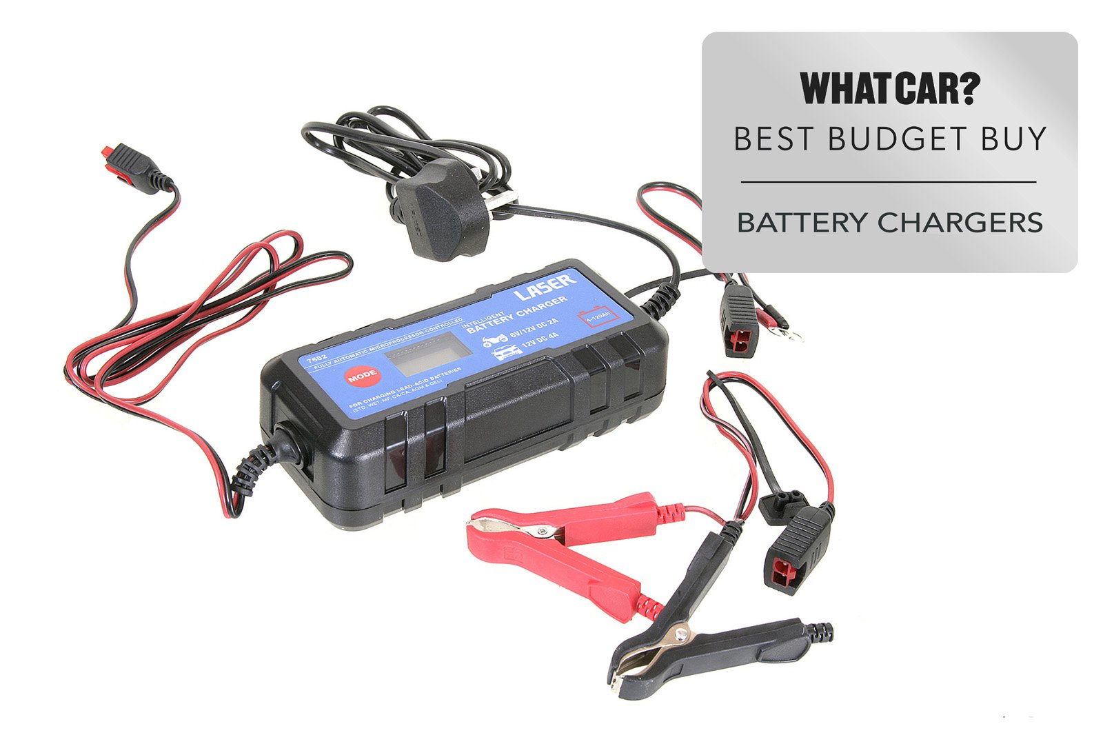 Smart battery chargers 2021 - Laser 7652