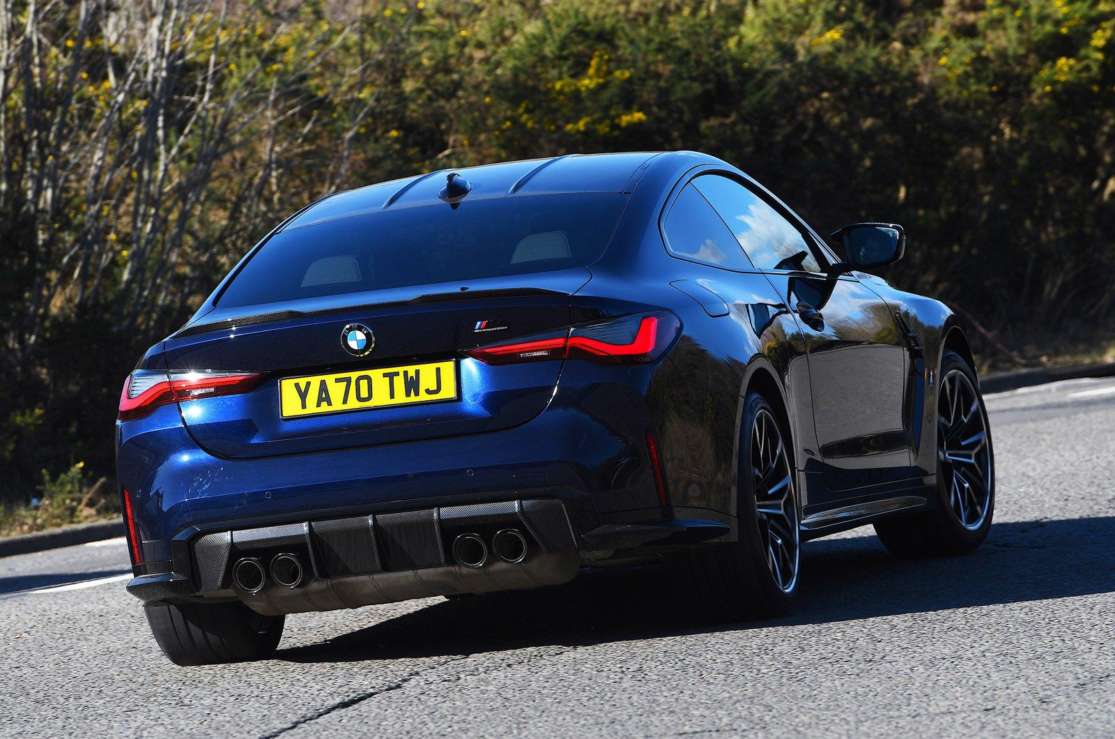 BMW M4 2021 rear