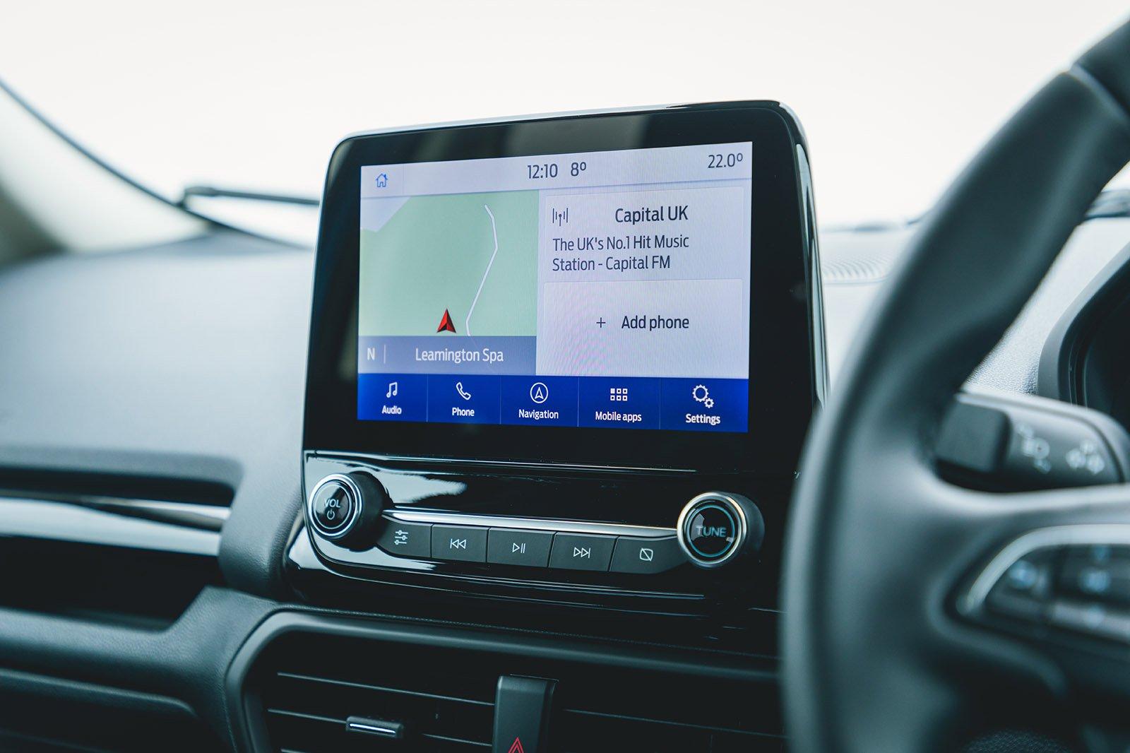 Ford Ecosport 2021 infotainment