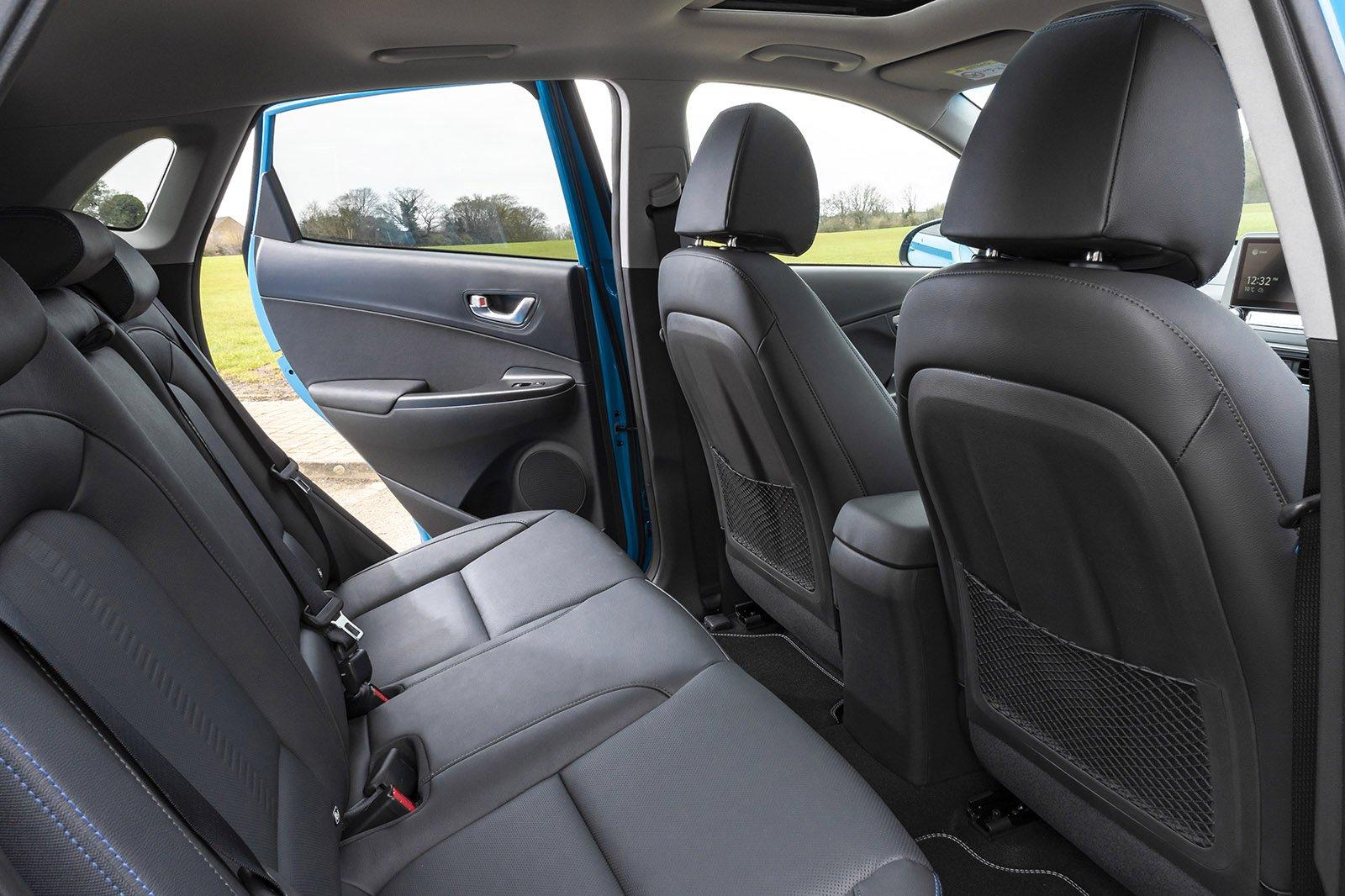 Hyundai Kona Electric 2021 rear seats