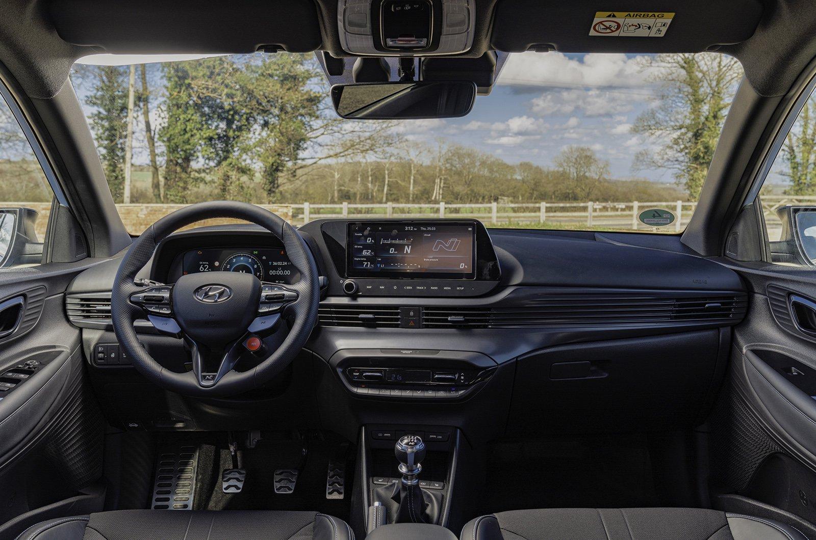 Interior Hyundai i20N