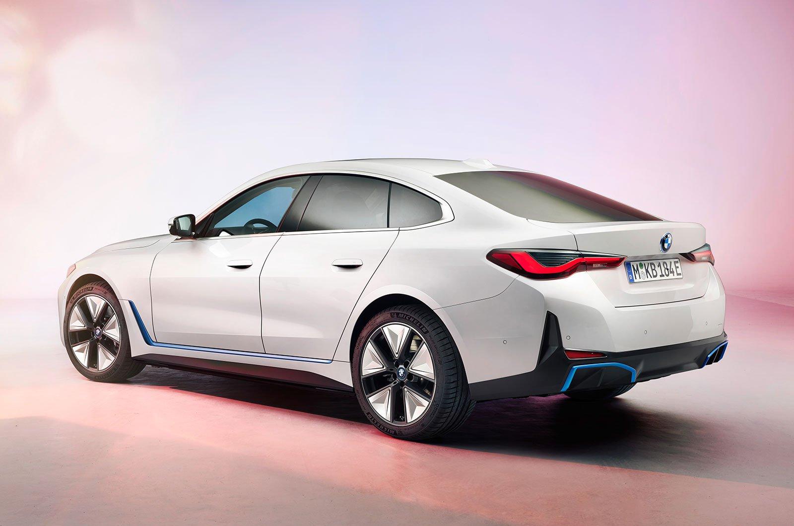 2021 BMW i4 rear