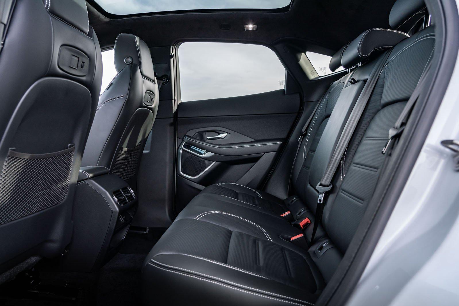 Jaguar E-Pace 2021 rear seats