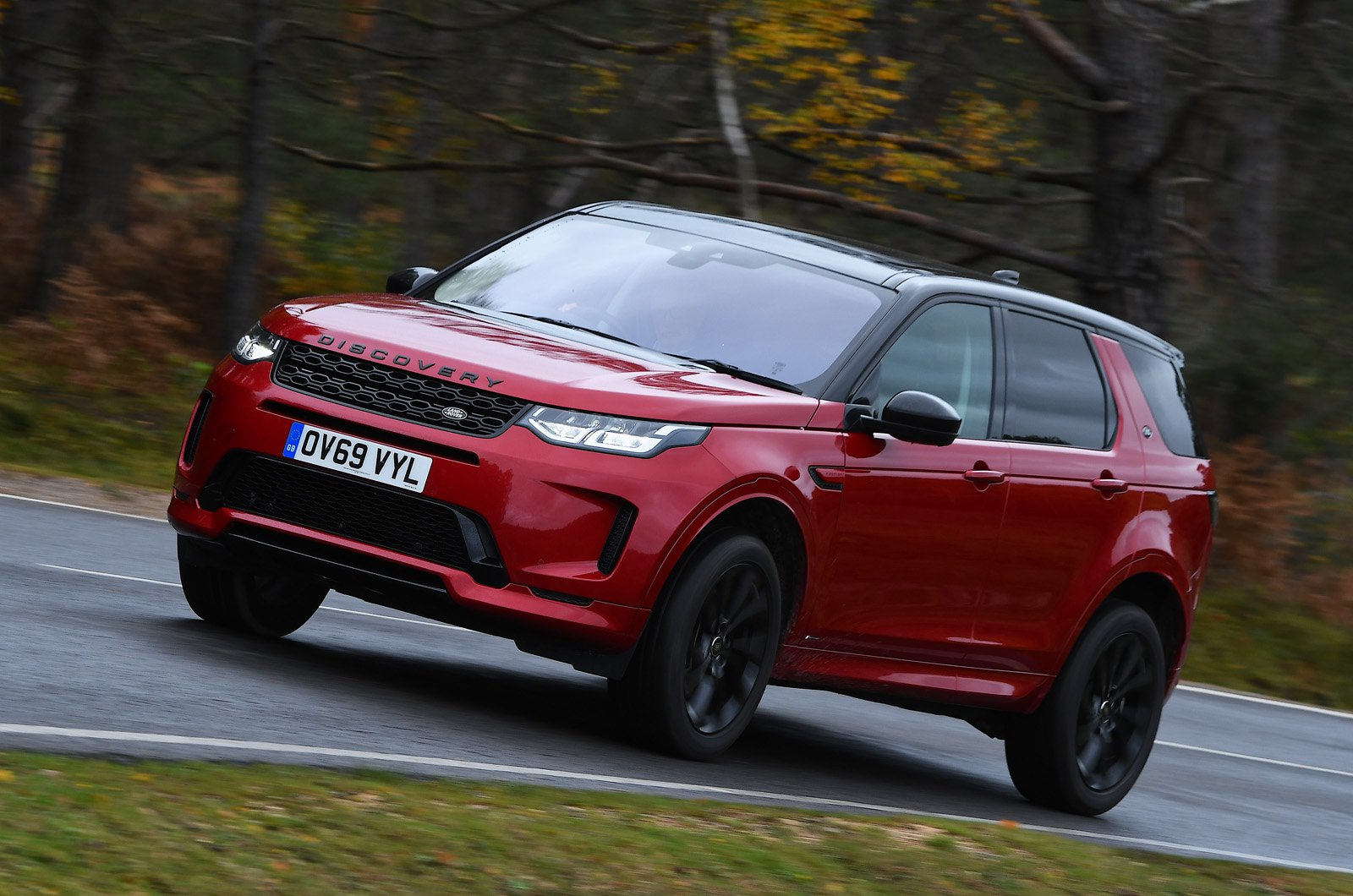 Land Rover Discovery Sport 2021 front