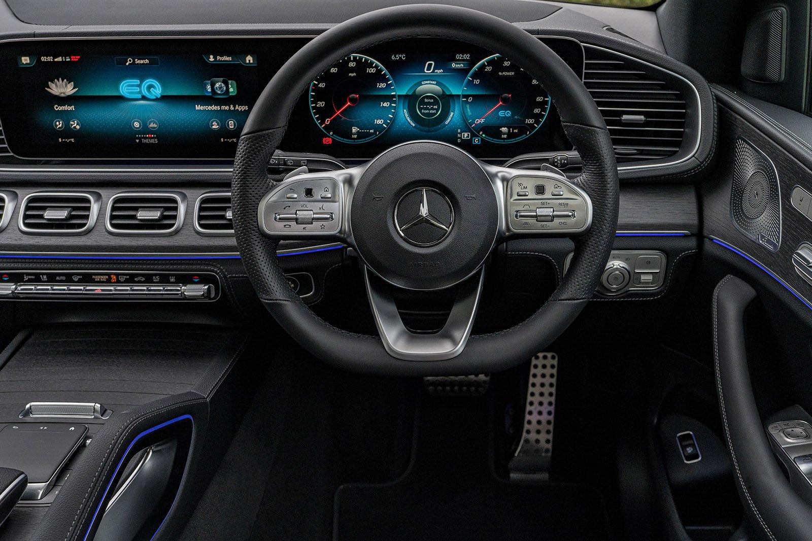 Mercedes GLE 2021 RHD instrument panel
