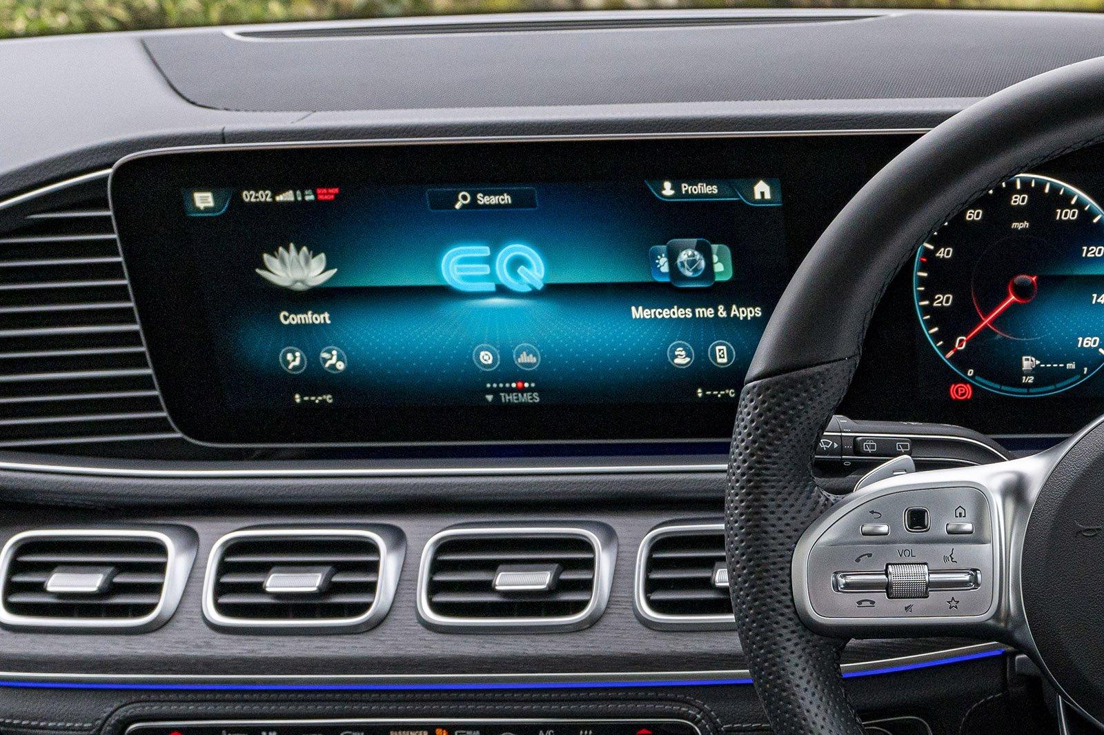 Mercedes GLE 2021 infotainment