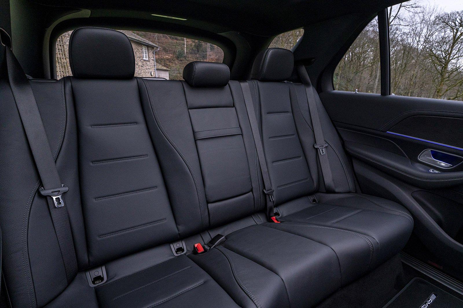 Mercedes GLE 2021 rear seats