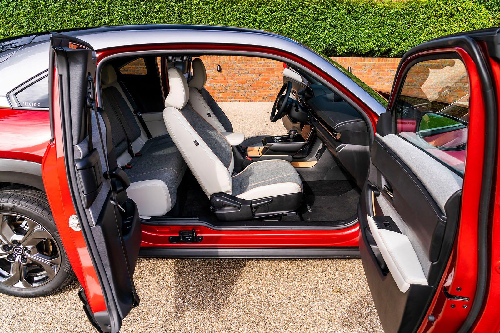 Mazda MX-30 2021 doors open