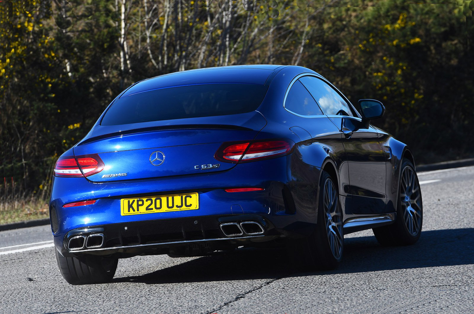 Mercedes-AMG C63 S Coupe 2021 rear