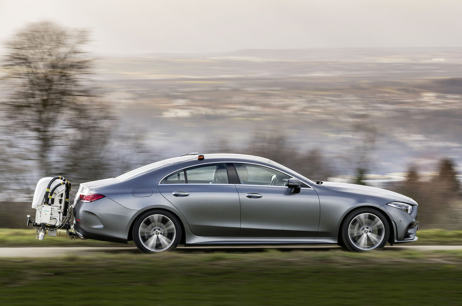 Mercedes CLS RDE2 emissions testing