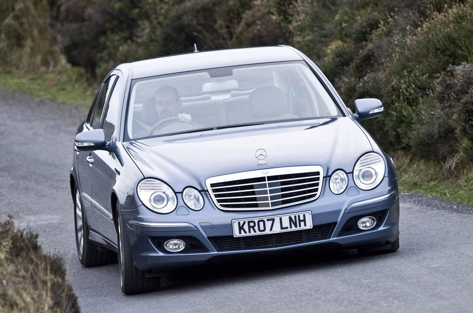Mercedes E280 CDI 2008 front
