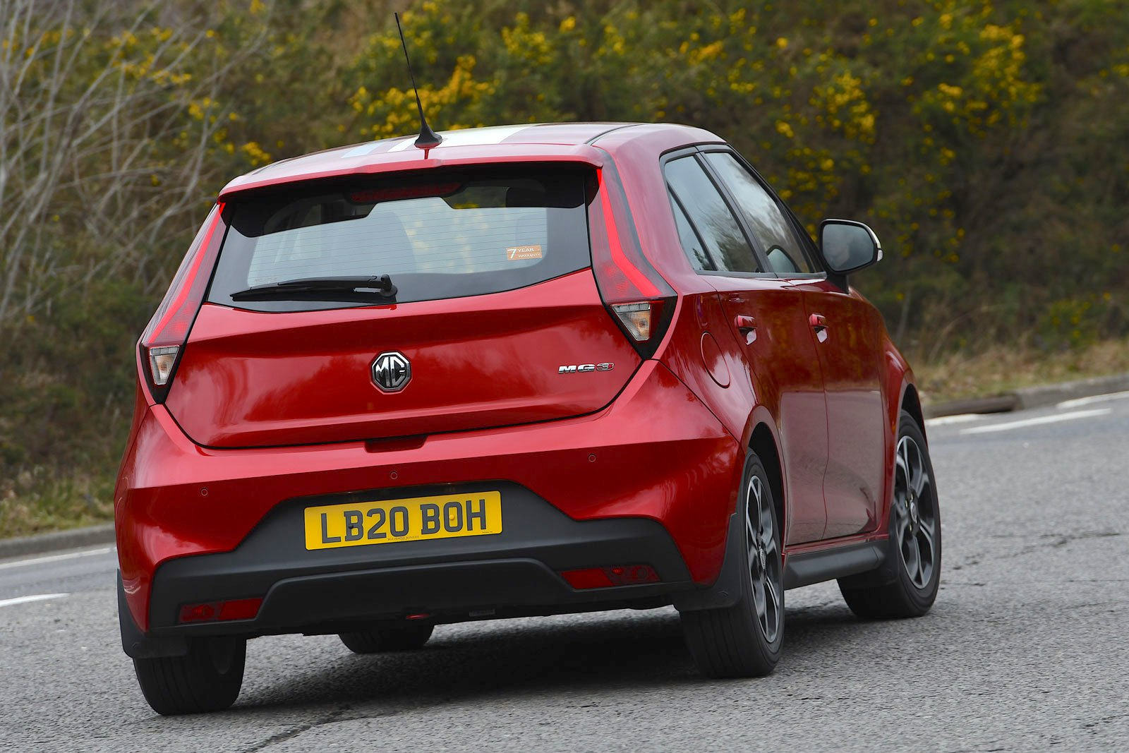MG 3 2021 rear cornering