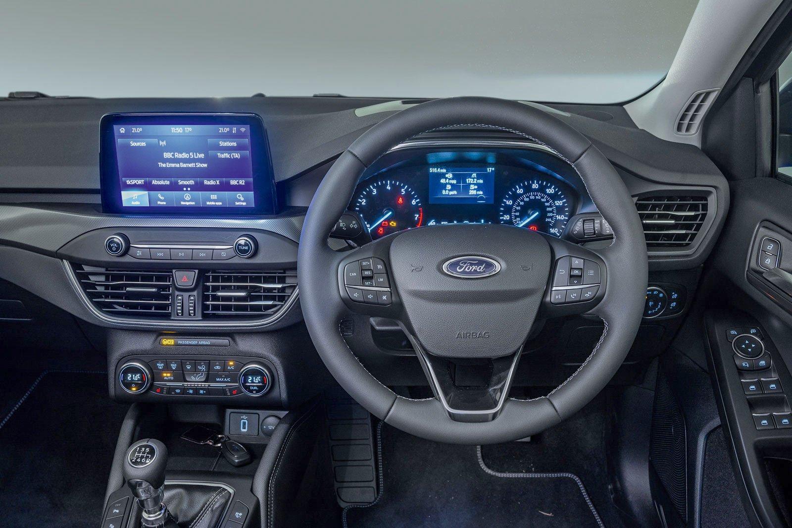 Ford Focus 2021 dashboard