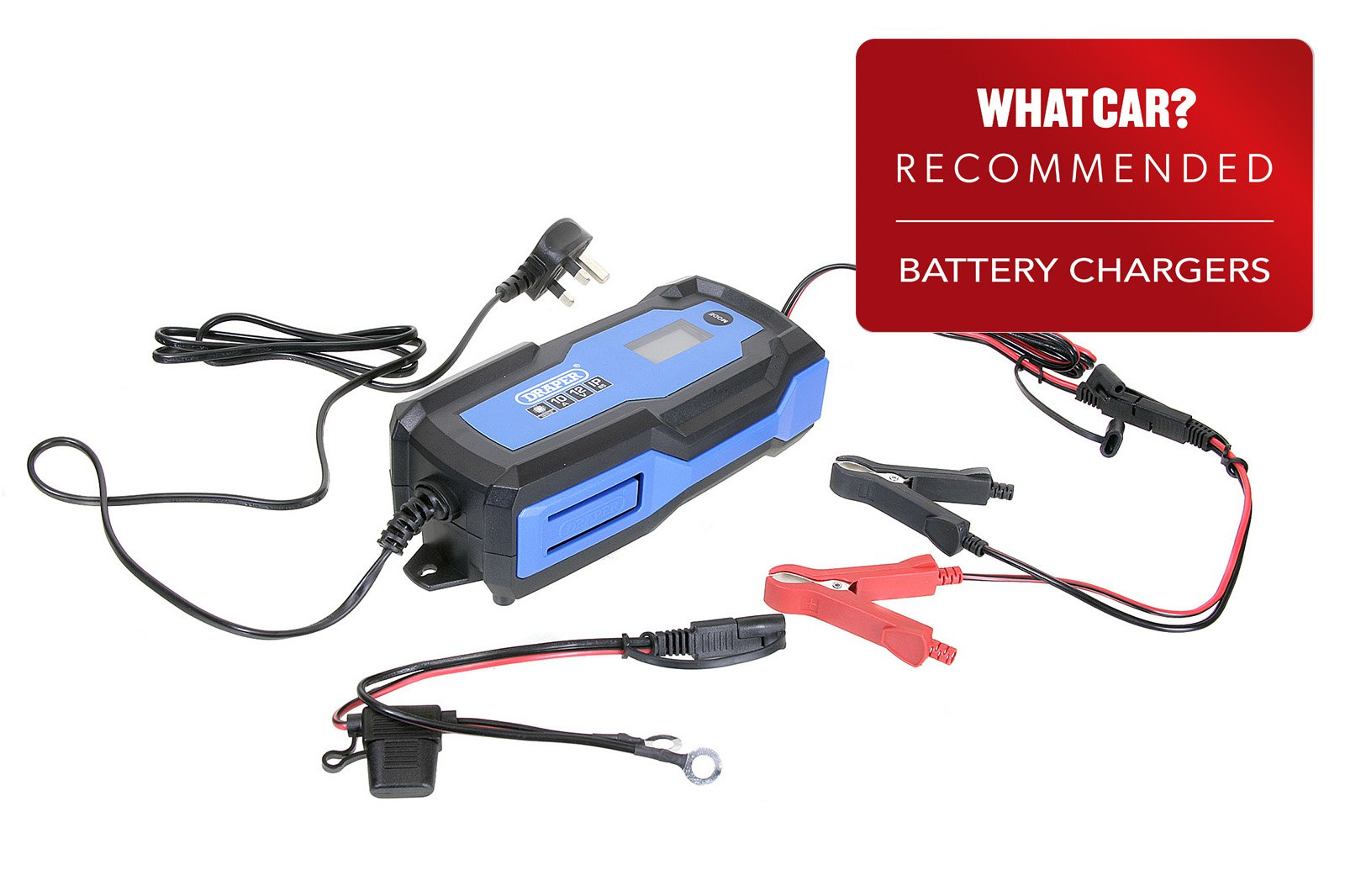 Smart Battery Chargers 2021 - Draper 53491